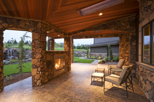 Outdoor Fireplace Firepit